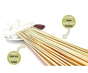 Amazon.com : Bamboo Marshmallow Smores Roasting Sticks 30