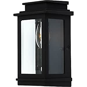 Artcraft Lighting Freemont Wall-Mount Outdoor 8-Inch Sconce in Black
