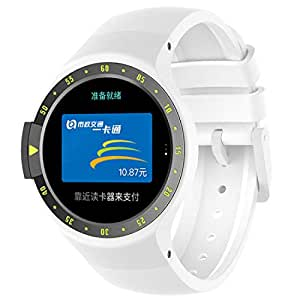MOTONG Silicone Strap for Ticwatch S (Silicone White)