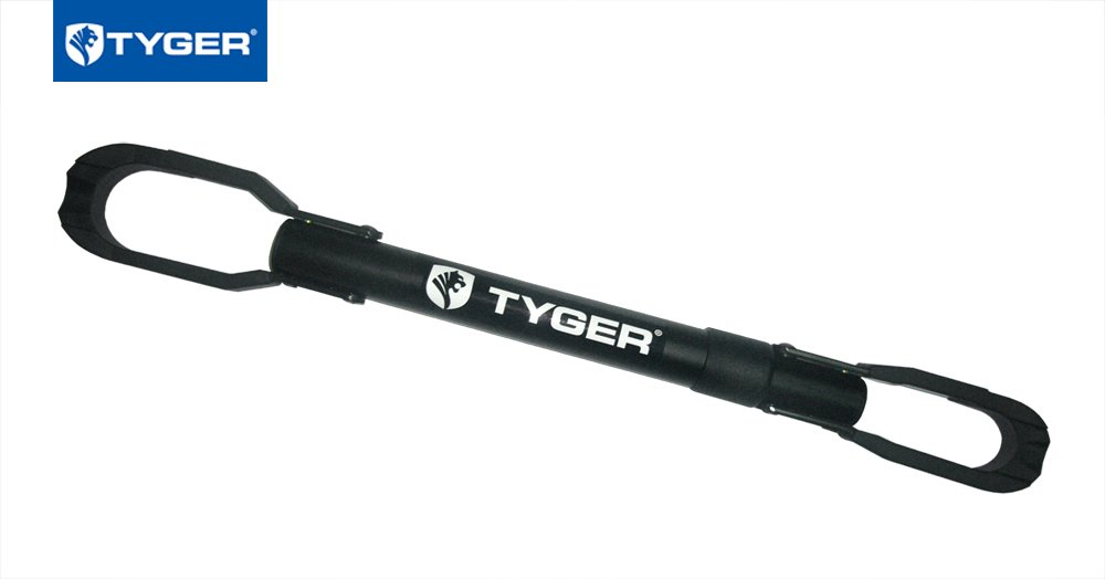 Tyger Auto TG-RK1B108B Deluxe Bike Top Frame Cross Bar Bicycle Telescopic Adaptor - Black