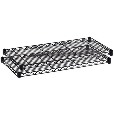 Safco Products Commercial Shelf (Safco Products 5296BL Industrial Wire Shelving Extra Shelf Pack 48