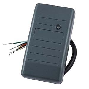 Azul Controlador de lector de tarjetas inteligentes sensor de proximidad DealMux plástico identificación del EM de RFID con cable