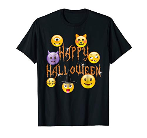 Happy Halloween Scary Emoji Faces For Kids and Teens -