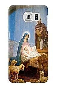 E2276 The Nativity Funda Carcasa Case para Samsung Galaxy S6