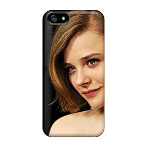 Fashionable Style Case Cover Skin For Iphone 5/5s- Chloe Moretz 6