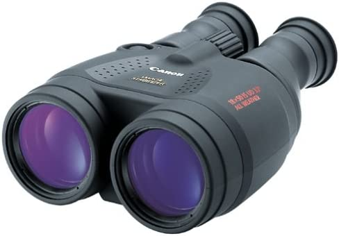 Canon 18×50 Image Stabilization All-Weather Binoculars w Case, Neck Strap Batteries