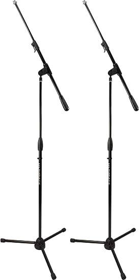 Color Negro Soporte para micr/ófono apilable