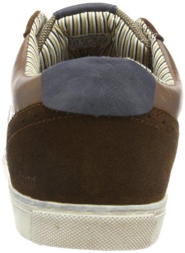 Sneaker Sportif Le LOW Shell Coq Herren 01011114 SR Braun Tortoise BRONNE JCU 858qTC