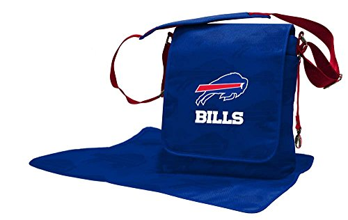 Lil Fan Diaper Messenger Bag, NFL Buffalo Bills ()