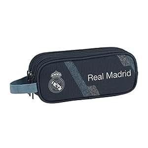 Safta- Portatodo Triple Real Madrid, Color Azul, 21 cm (811834635)