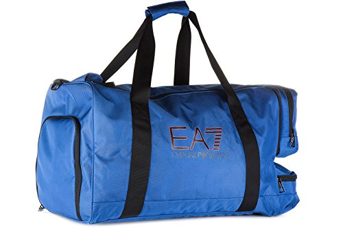 Emporio Armani EA7 sac de sports homme bandoulière en Nylon train evolution blu
