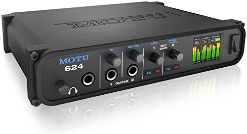MOTU 624 16x16 Thunderbolt USB 3.0 Audio Interface with AVB