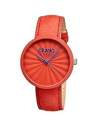Crayo Cr1505 Pleats Watch