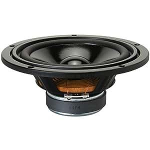 Visaton VS-W170S/8 - Altavoz (17 cm, Papel, 50W, 80W, 33 – 8000 Hz, 2,5 cm) Negro