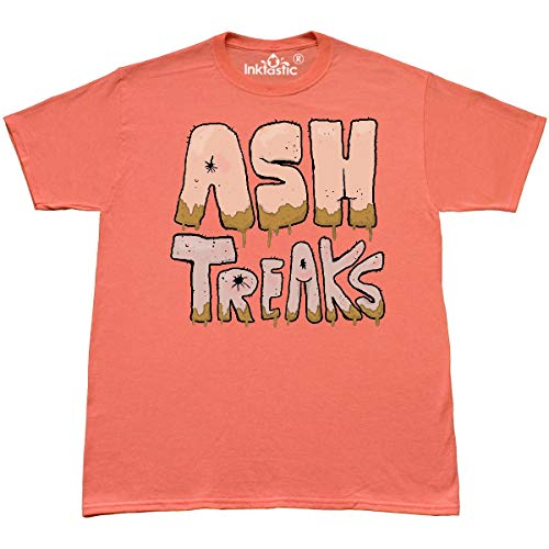 4040 Studio - inktastic - Ash T-Shirt Small Retro Heather Coral - Gus Fink Studios 2e1a7