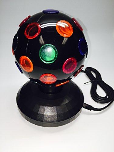 5'' Rotating Disco Ball (Black) by Unido Box (Image #4)