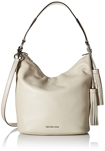 Cement Womens (MICHAEL Michael Kors Women's Elana Large Convertible Shoulder Cement Handbag)