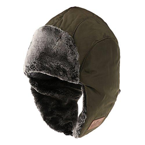 ふくろうゆるい半円Perfk 冬用 ミリタリーキャップ 防風防寒帽子 耳あて付きキャップ 男女通用 アウトドア 全2色