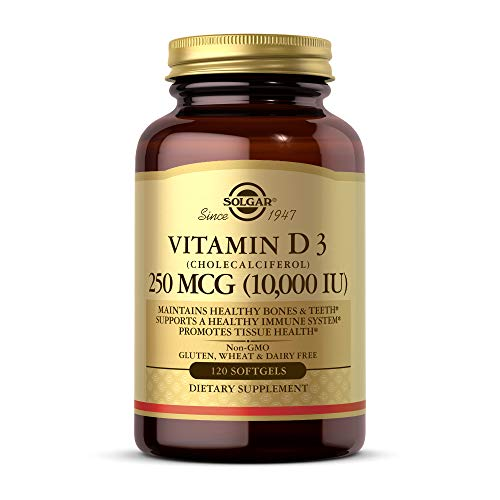 Solgar Vitamin D3 (Cholecalciferol) 250 MCG