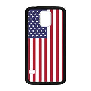 Blue White And Red Composition American Flag Samsung Galaxy s5 Case Cover Shell(Laser Technology)
