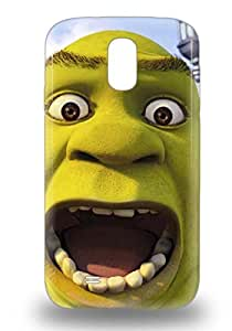 7235770M61144114 Tpu Case For Galaxy S4 With Dream Works Shrek The Kind Monster