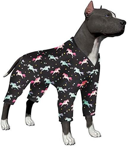 LovinPet Ropa para Perros para Perros Grandes - Pijama, Recuperación Posquirúrgica para Perros Grandes, Pijama Ligero para Perros, Cobertura Completa, ...