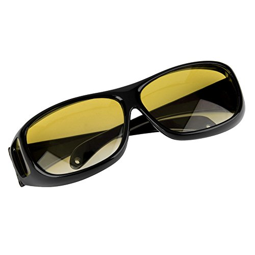 New HQ Night Driving Glasses Anti Glare Vision Driver Safety Sunglasses Classic UV Protective Glasses - Goggles Tommy