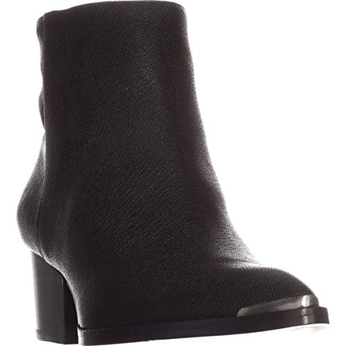 Calvin Klein Jeans Womens Narice Pointed Toe Ankle Fashion, Black, Size 8.5
