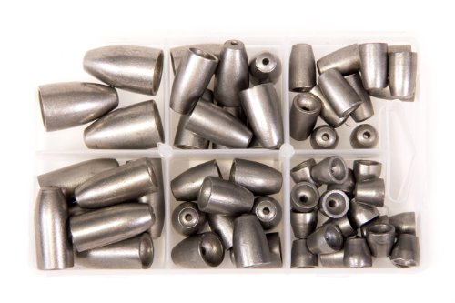 bullet-weights-ultra-steel-bullet-weights-sinker-kit-natural-60-piece-kit