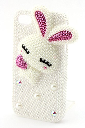ry Pearl Bunny iPhone 4/4S Case By Fashion Destination (Closeout Costume Jewelry)