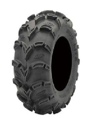Full set of ITP Mud Lite XL 25x8-12 and 25x12-12 ATV Tires 4