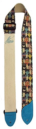 lm-products-alm-c-miss-alexis-guitar-strap-cats