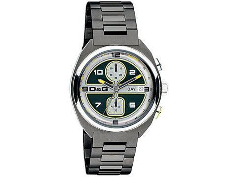 Dolce and Gabbana Song Collection Chronograph Mens Watch DW0302