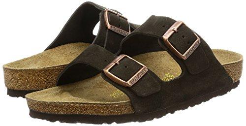 Birkenstock womens Arizona in Mocha from Leather Sandals 41.0 EU W by Birkenstock (Image #5)