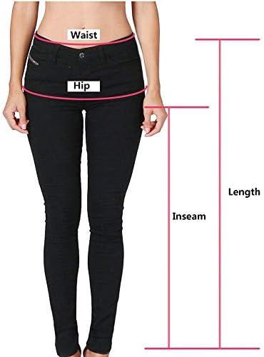 ABCone Jeans Premaman Basico maternit/à Elastico Jeans Donne Incinta Regolabile Pantaloni Donna Premaman Shorts Jeans Leggings maternit/à Regolabile Ventre Banda Pantaloni Pantaloni Premaman