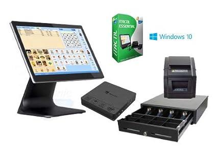 TPV táctil Completo + cajón + Impresora 80mm + Software Itactil ...