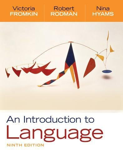 An Introduction to Language, 9th Edition by Cengage Learning