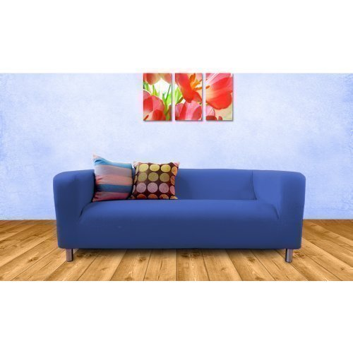 Shopisfy Replacement Cover For Ikea Klippan Sofa 2 Seater - Royal Blue