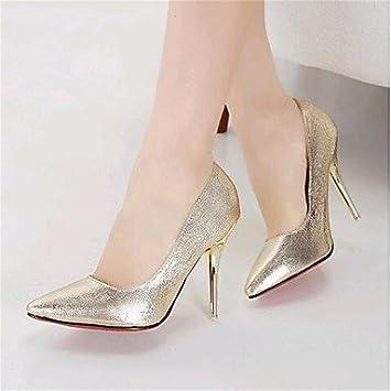 34b02c217f1114 LFNLYX Chaussures Femme-Mariage / Soirée & Evénement-Argent / Or-Talon  Aiguille