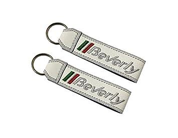 Moto Discovery Piaggio Beverly cordón Llavero Doble Cara ...