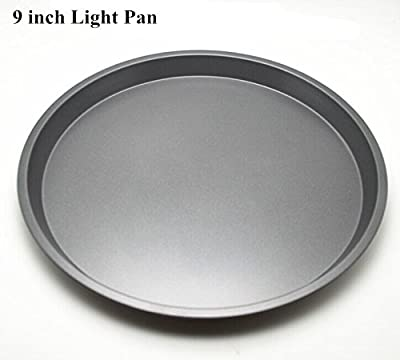 Fangfang Nonstick Light Pizza Pan Pizza Tray Evenly Bakes Heat(9 Inch)