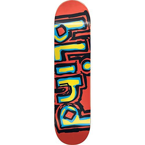 "Blind Skateboards OG Logo Red Skateboard Deck - 8.37"" x 31.9"