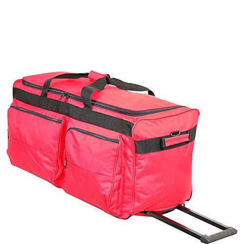 "Netpack 30"" General Duty Wheeled Duffel (Red)"