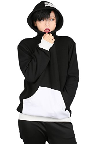 Soul Hoodie Cosplay Costume Unisex Pullover Sweatshirt M