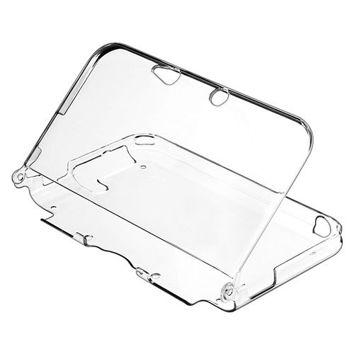 Crystal Rubber Generation Case (TNP 3DS XL Case - Ultra Clear Crystal Transparent Hard Shell Protective Case Cover Skin Accessory Compatible with Nintendo 3DS XL LL)