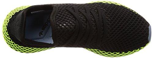 Runner Deerupt Adidas Multicolore cblack black Stringate ashblu green Uomo Cblack Scarpe Derby O45xr5HWqn