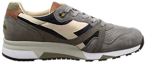 Sneakers Uomo Ita 42 Grigio nylon N9000 H Pelle Heritage Eu Diadora PgqO1wASq