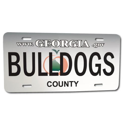 Georgia State Bulldogs (Front License Plate - University of Georgia