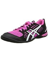 Asics GelFortius TR Women's Training Shoe 11.5 Black-White-Pink