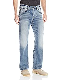 Silver Jeans Men's Zac Joga Relaxed Fit Straight Leg